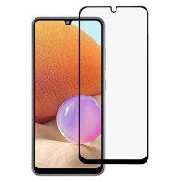 گلس فول تمام صفحه و تمام چسب سامسونگ Full Glass Screen Protector For Samsung Galaxy A32 4G