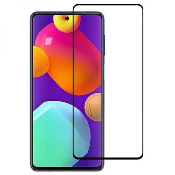 محافظ صفحه نمایش شیشه ای سامسونگ Samsung Galaxy M62 Full Glass Screen Protector