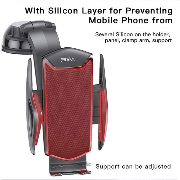 پایه نگهدارنده موبایل هولدر ماشین یسیدو Yesido C99 Phone Stand Holder