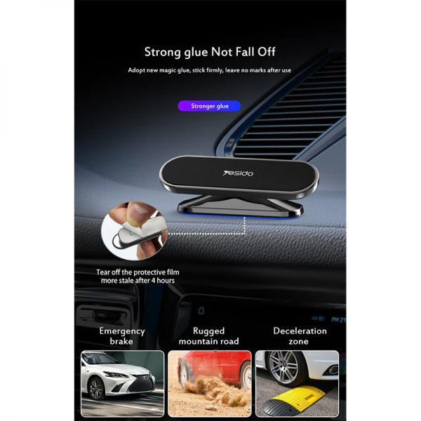 پایه نگه دارنده آهنربایی موبایل داخل خودرو یسیدو Yesido C82 Car Holder