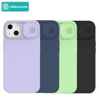 قاب سیلیکونی نیلکین آیفون 13 Nillkin Apple iPhone 13 CamShield Silky silicone case