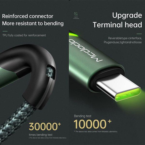 کابل فست شارژ تایپ سی مک دودو MCDODO CA-7960 Type-C Cable Fast Charge