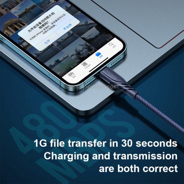 کابل لایتنینگ به تایپ سی مک دودو Mcdodo CA-8460 20W USB-C PD Fast Charging Data Cable