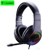 هدفون سیمی گیمینگ T-Dagger Caspian T-RGH211 Gaming Headset