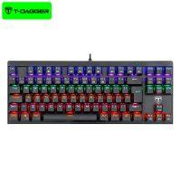 کیبورد سیمی گیمینگ تی دگر T-DAGGER Corvette T-TGK302 Gaming Mechanical Keyboard